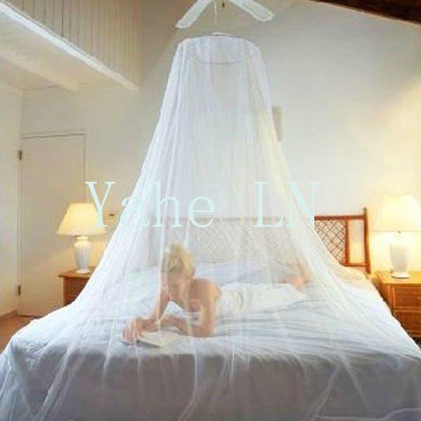 Mosquitero pabellones para cama queen y king size tam - Tela para mosquitera ...