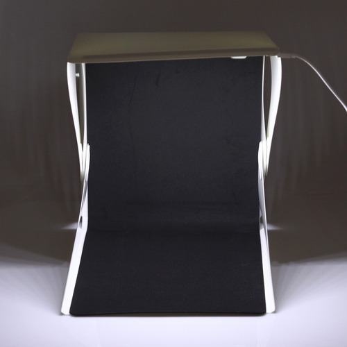 para camara caja luz plegable portatil mini led estudio