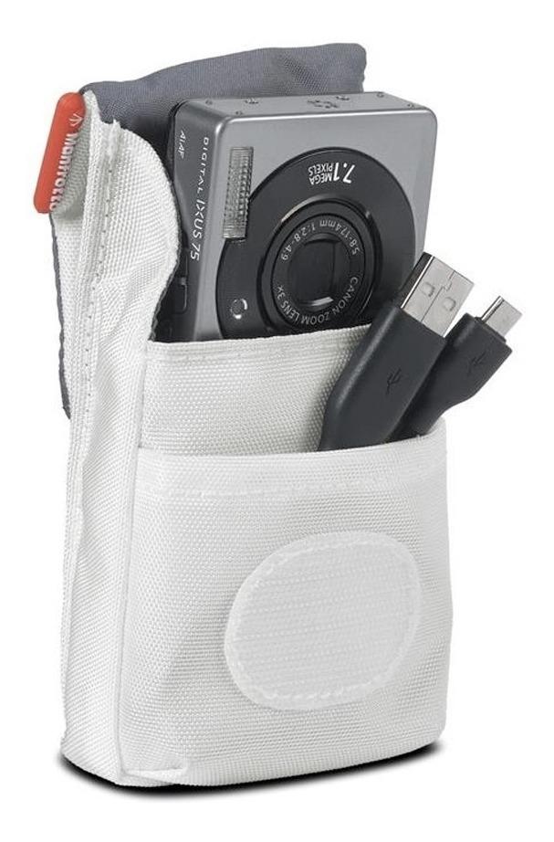Manfrotto cámara bolsa//estuche nano II en blanco