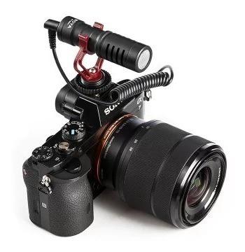 para cámara micrófono