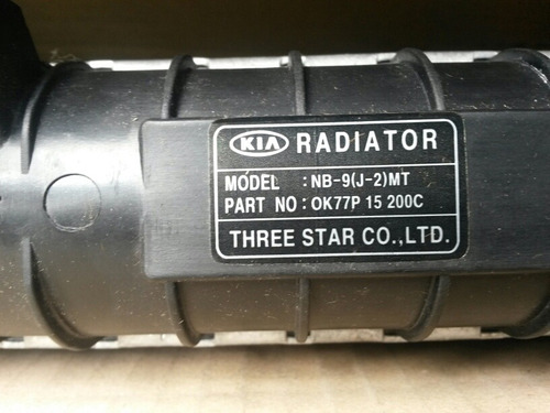 para camioneta radiador