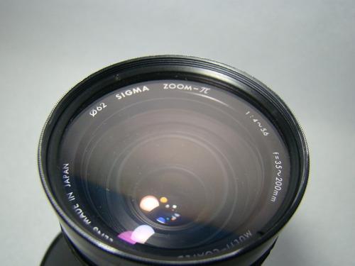 para canon. lente
