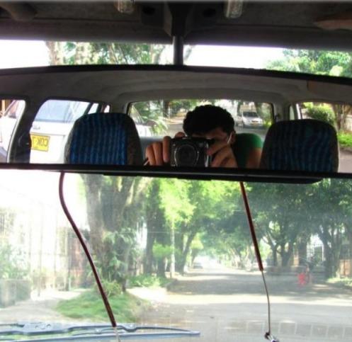 para carro espejo