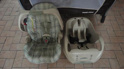 para carro graco.. silla porta bebe