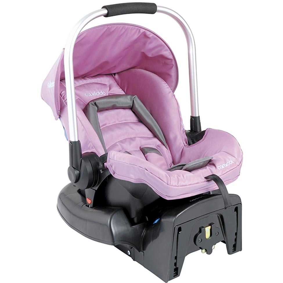 Casulo beb conforto caracol 411 base para carro kiddo for Sillas para carro kiddo