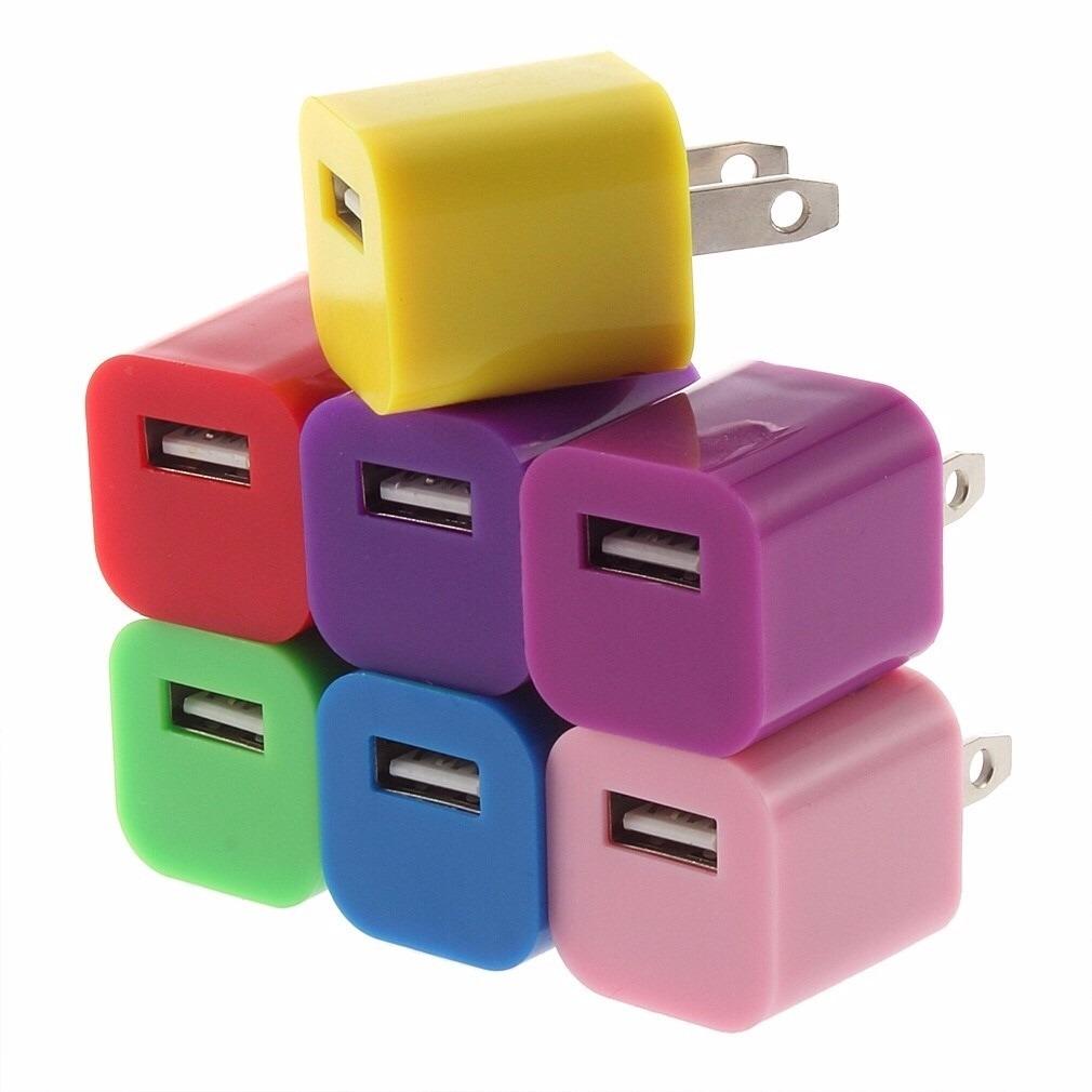 Mayoreo 20 Cubos Cargador Usb Para Celulares Y Tablets