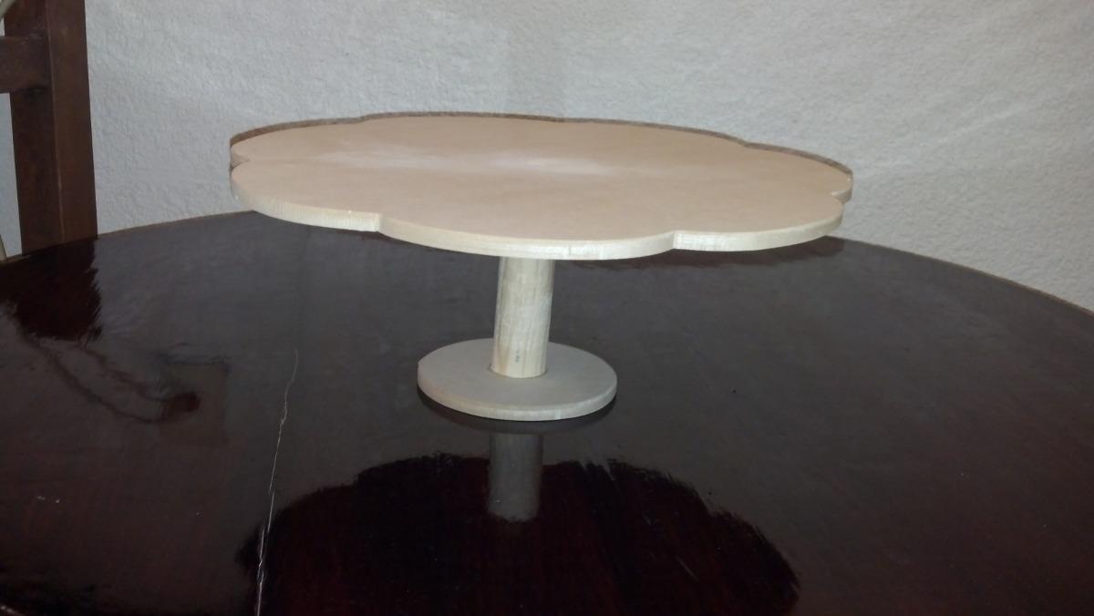 Base para centros de mesa de dulces en mercado libre for Bases de mesas cromadas