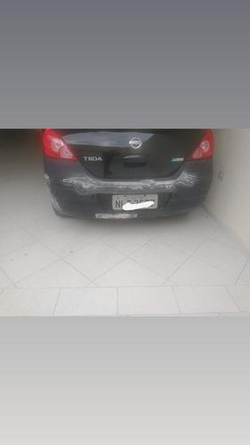 para-choque traseiro nissan tiida hatch
