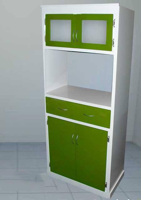 Alacena porta microondas minimalista mod orlando para cocina 2 en mercado libre - Alacena cocina ...
