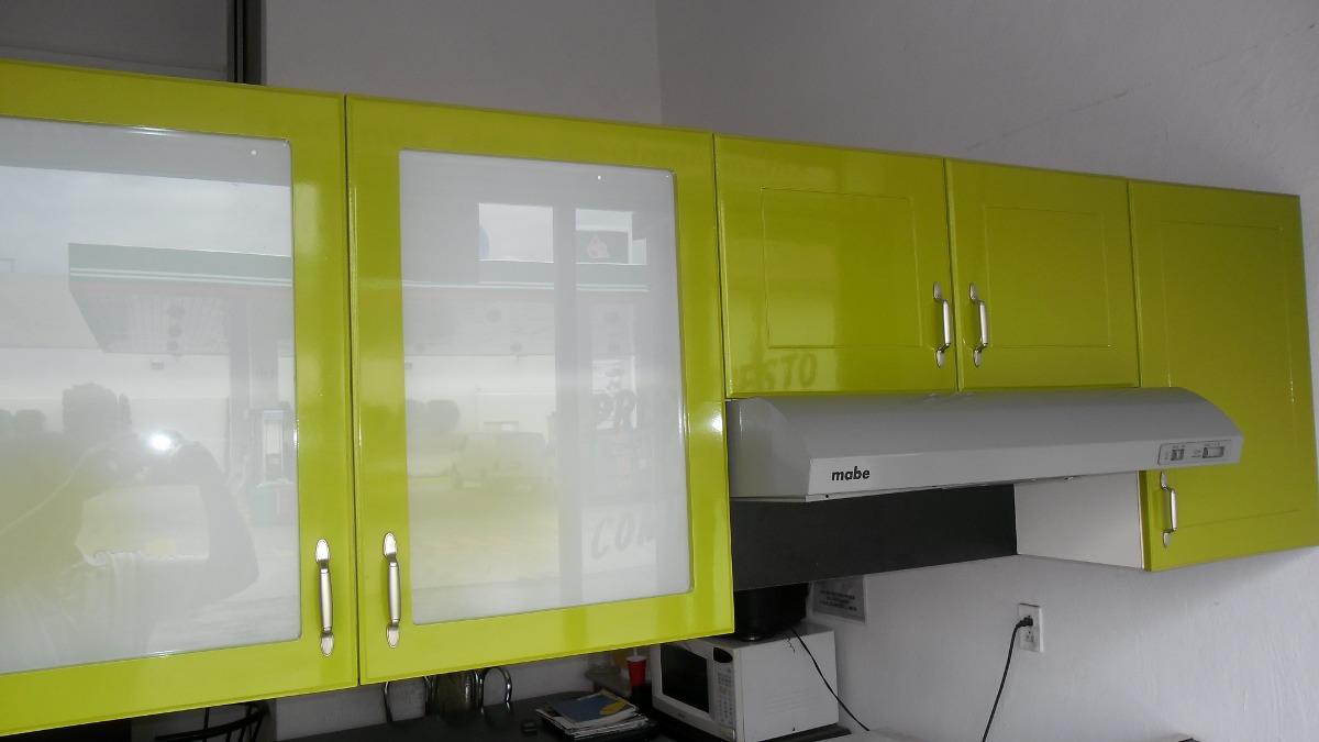Alacena para cocina con dos puertas y entrepa o 2 200 for Alacenas de cocina modernas