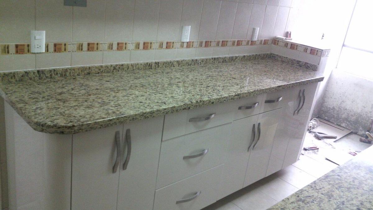 Cubiertas en granito natural para cocina marmol y mas for Granito natural rosa del salto