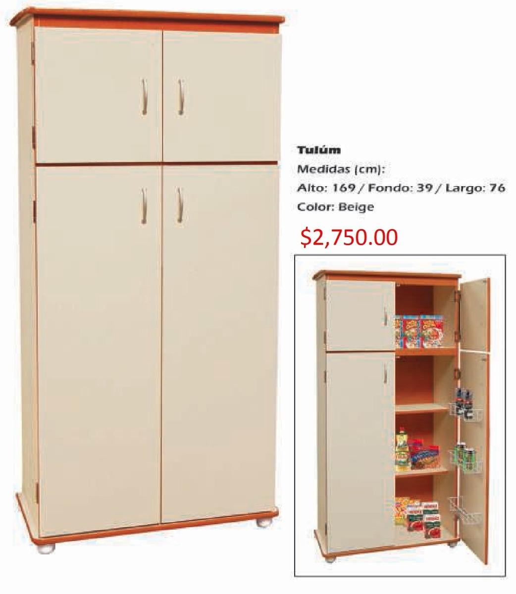 Mueble Para Cocina Modelo Tulum - $ 2,750.00 en Mercado Libre