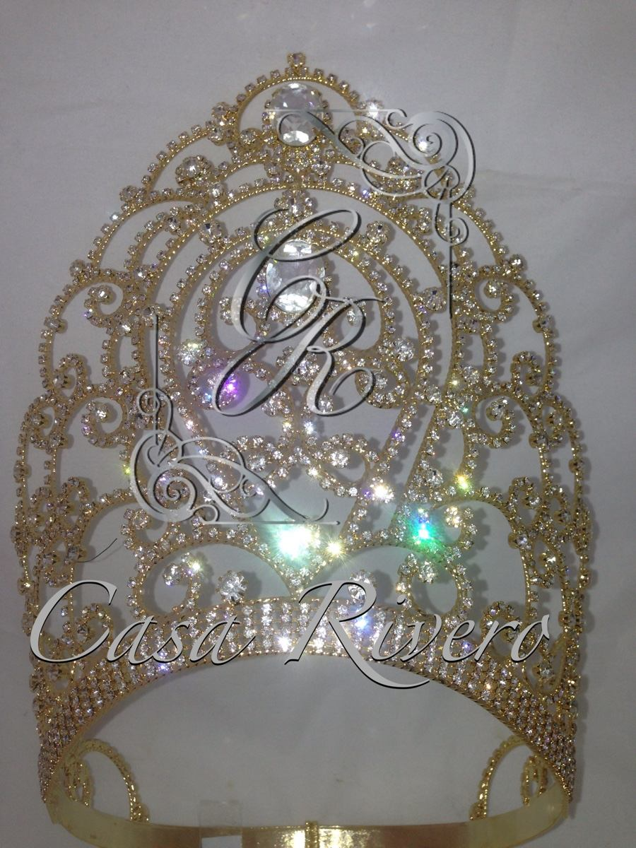 Corona Para Carnaval Reina Coronas Fabricante 350000 En