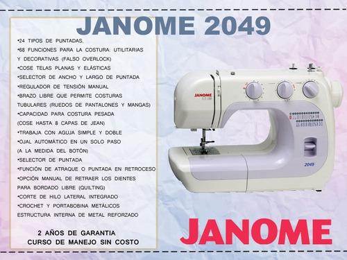 para coser janome maquina