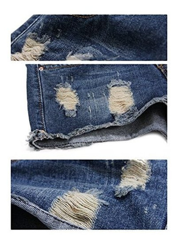 para dama nanjun pantalone jeans puño