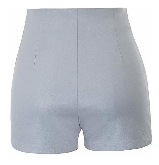 bajo precio 066f9 cacef Para Dama Pantalon Corto Cintura Alta Elastico Amz