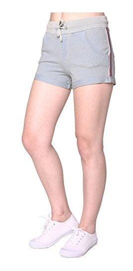 nuevo producto 274b0 029e7 Para Dama Pantalon Corto Elastico Media Altura Amz
