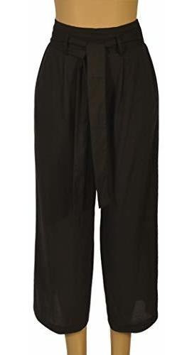 para dama pantalone vestir corte casual pierna ancha