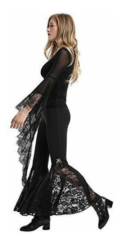 para dama pantalone yoga encaje steampunk gotico