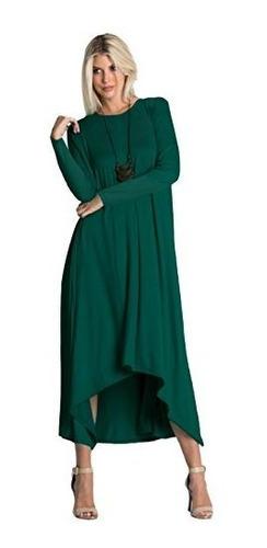 para dama tabeez vestido largo sueter manga 3 4