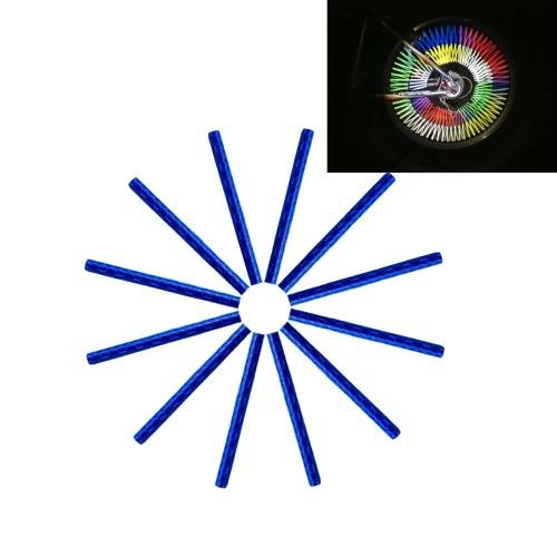 para decorativo oqsport 12 pcs rueda bici hablo reflector