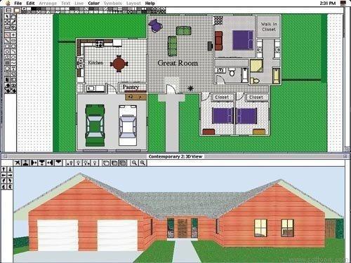 Programa disear casa vivienda plano de casa con diseo - Programa diseno vivienda ...