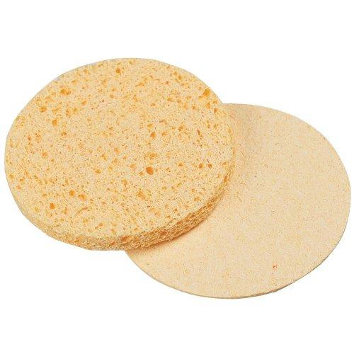 para esponja comprimida pro, amarillo, redondo, 2.75 pulgada