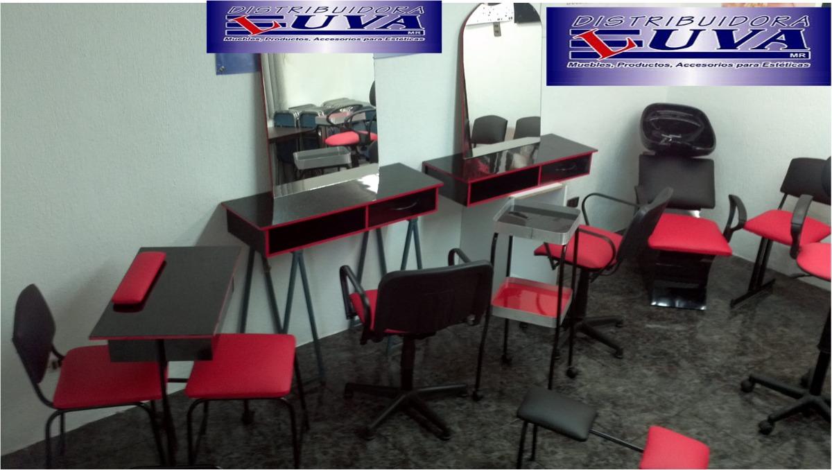 Muebles para estetica 15 pzas 15 en mercado libre for Fabricantes de muebles para estetica