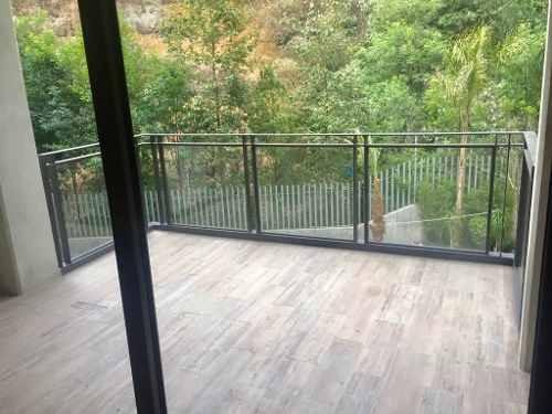 para estrenar con terraza grande en tecamachalco