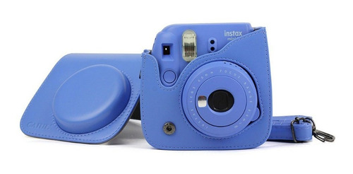 para fujifilm fuji instax mini 8 9 filme camera pu bolsa de