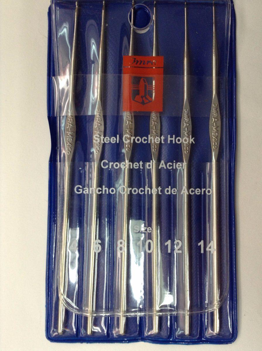 Ganchos para tejer en kit 28 ganchos en mercado for Ganchos de plastico
