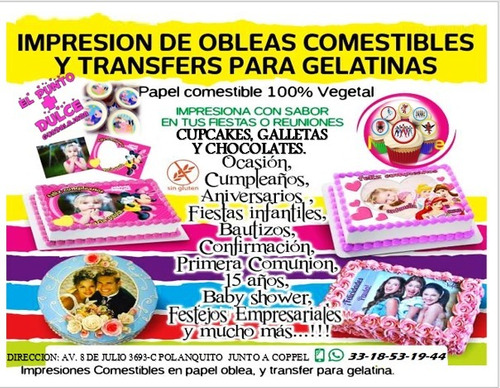 para gelatina transfer