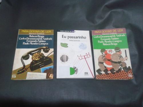 para gostar de ler - v. 04/05/41 kit 3 livros