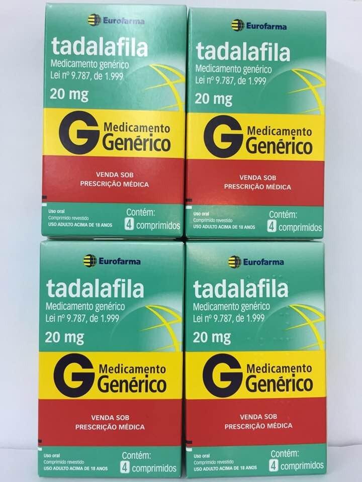 Resultado de imagem para tadalafil 20 mg eurofarma