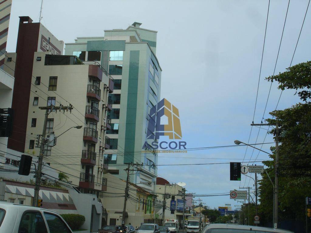 para investidor, imóvel comercial já locado, com 4 salas em todo o andar, centro, florianópolis. - sa0097
