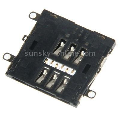 para ipad serie repuesto sim card slot black