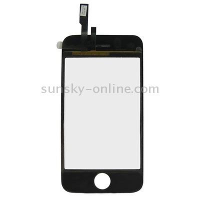 para iphone 4 pieza 3g pantalla tactil digitalizador negro