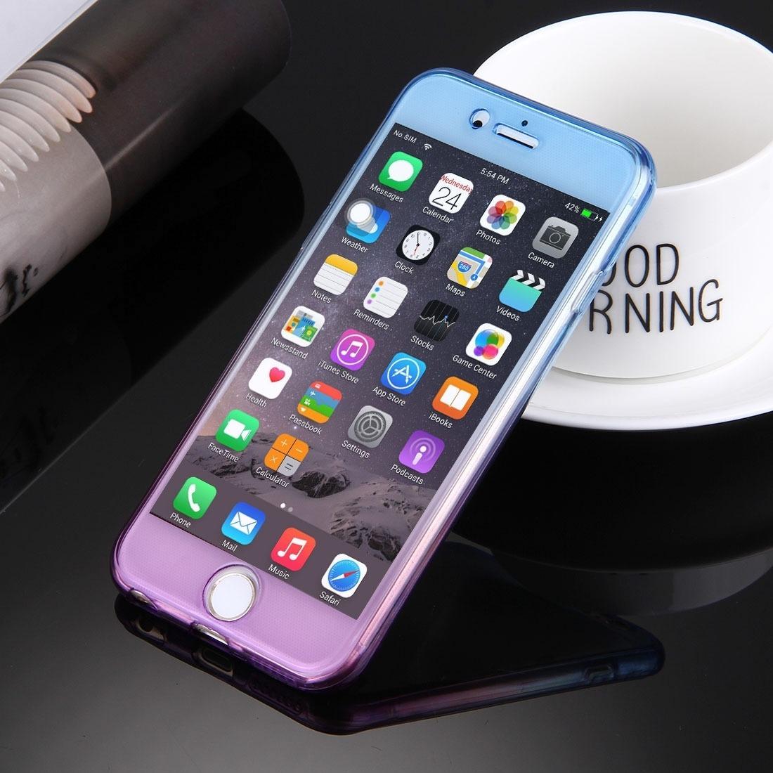 2eea26d737f Para iPhone 6 Caja 6s Doble Cara Color Gra Bdrr - Bs. 82.117,13 en ...