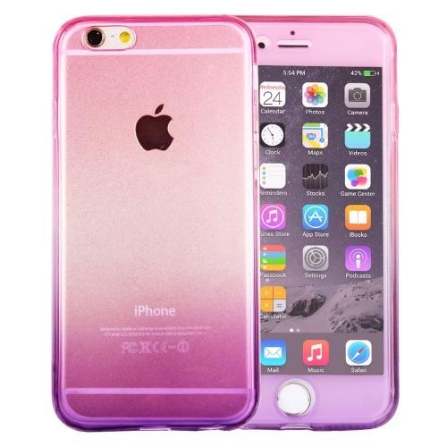 7a910dac119 Para iPhone 6 Plus 6s Doble Cara Color Gradiente Tpu Funda - Bs. 2.275,00 en  Mercado Libre