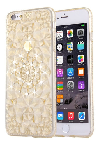 para iphone 6 plus 6s incrustacion tpu funda protectora