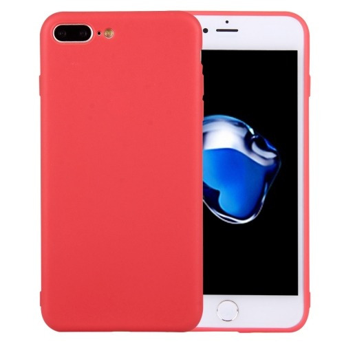 para iphone 8 funda protectora color tpu solido plus 7 sin