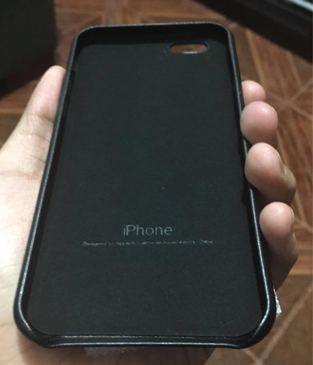 d83d8d9b619 Cargando zoom... carcasas cuero y silicona con logo para iphone 6 6s plus- 7