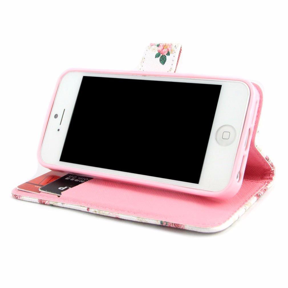 Funda tipo cartera para apple iphone 5 5s en mercado libre - Funda de piel para iphone 5 ...