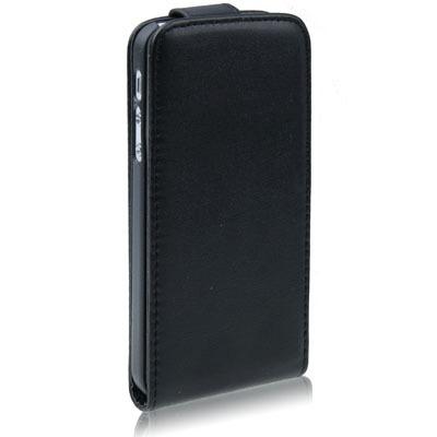 Funda protector vertical piel para iphone 5 y 5s flip cover en mercado libre - Funda de piel para iphone 5 ...