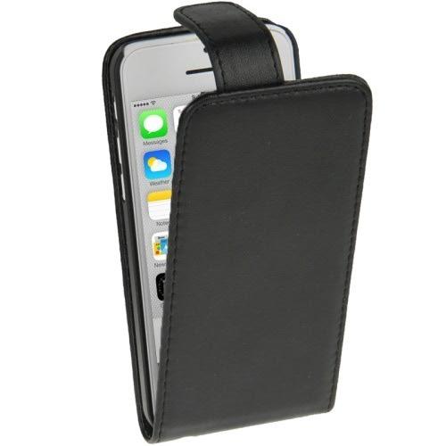 Para iphone 5c funda flip vertical de piel natural en mercado libre - Funda de piel para iphone 5 ...
