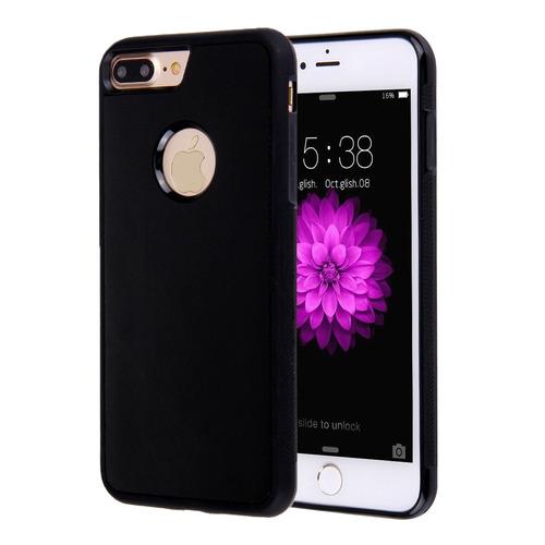 para iphone plus 8 7 funda protectora selfie pegajosa negro