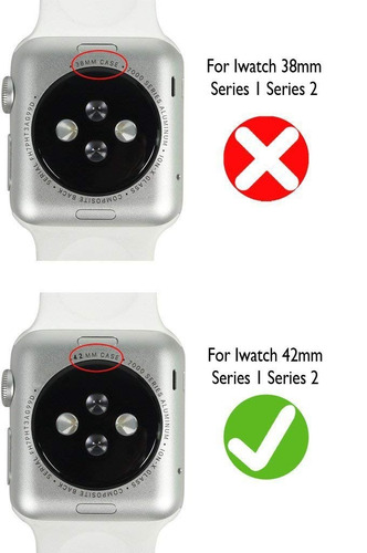 para iwatch bandas 42 mm , correa cuero 42 mm reemplazo band