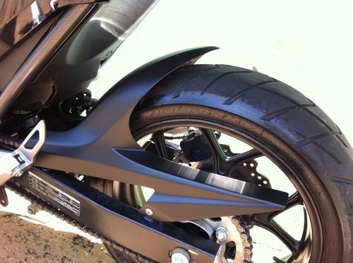 para lama nc 750  preto fosco modelo novo