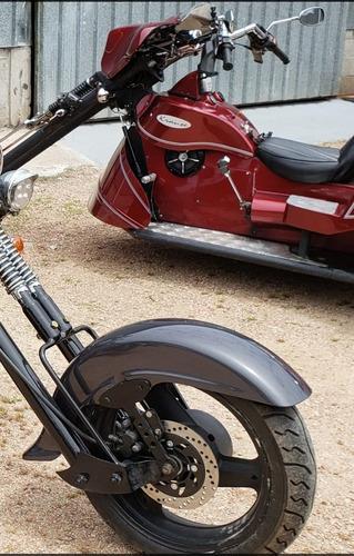para-lamas dianteiros traseiro motos triciclo - fibra vidro.