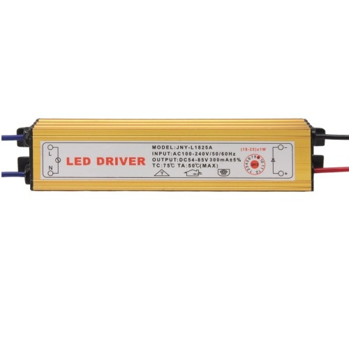para led controlador conductor 2p cable conector jst 18-25